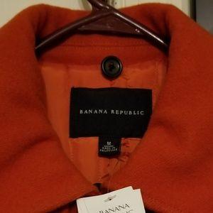 Banana republic ladies medium coat brand new. With